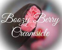 Boozy Berry Creamsicle