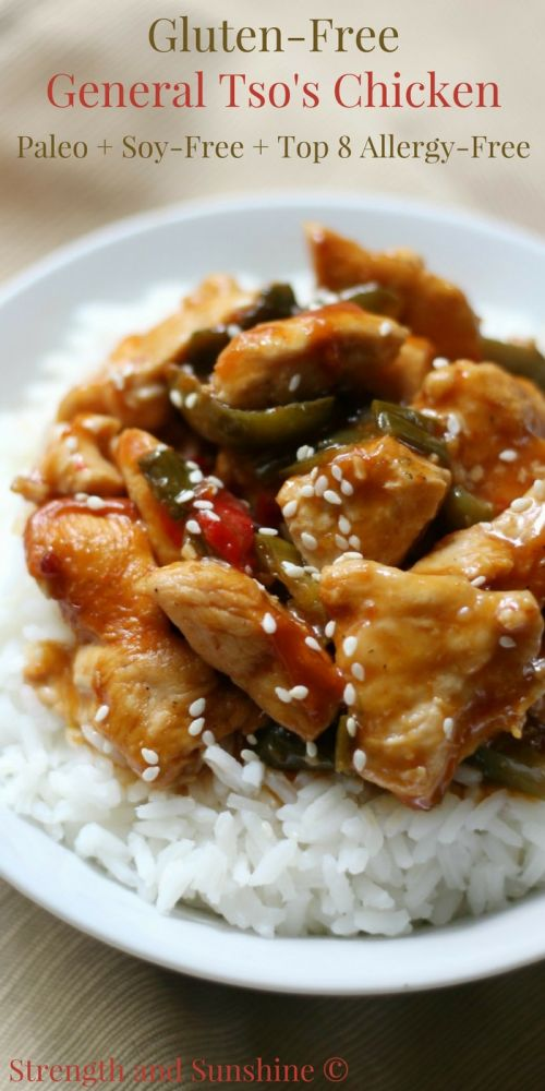 Gluten-Free General Tso's Chicken