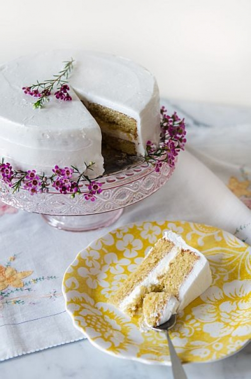 Amazing Almond Layer Cake