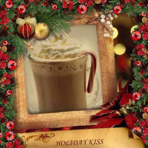 Holiday Kiss with a Cherry Twist