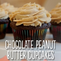 Zemas Madhouse Foods Gluten-Free Chocolate Peanut Butter Cupcakes Recipe