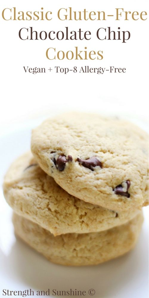 Classic Gluten-Free Chocolate Chip Cookies