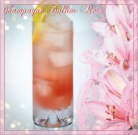Champagne Collins Rose'