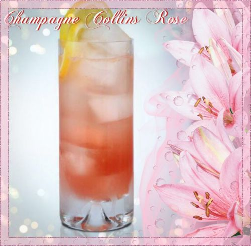 Champagne Collins Rose