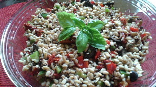 Wild Rice & Orzo Salad