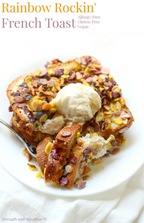 Rainbow Rockin' French Toast