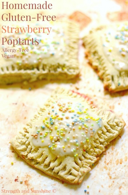 Homemade Gluten-Free Strawberry Poptarts