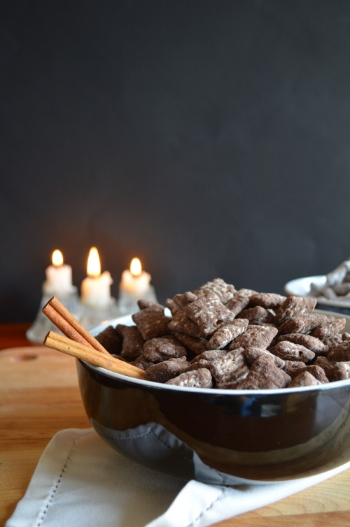 Mexican Chocolate-Cayenne Chex Mix