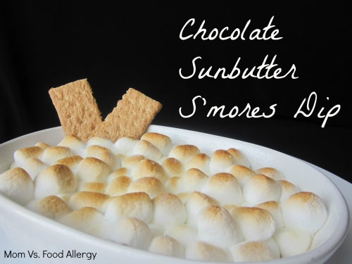 Chocolate Sunbutter S'Mores Dip