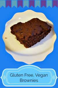 Gluten Free, Vegan Brownies