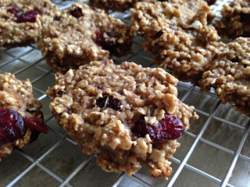 Healthy Banana Oatmeal Cookies